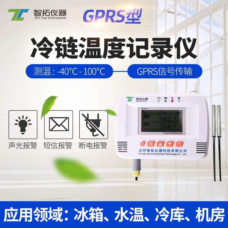 GPRS双路温度记录仪