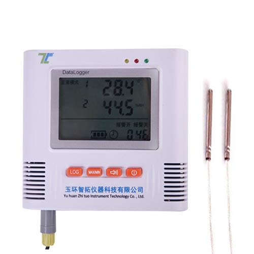 双路高温温度记录仪