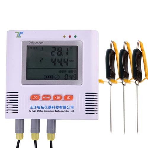多路土壤温度记录仪
