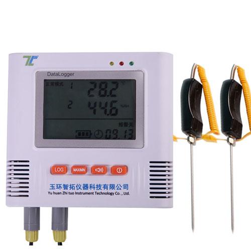 两路土壤温度记录仪