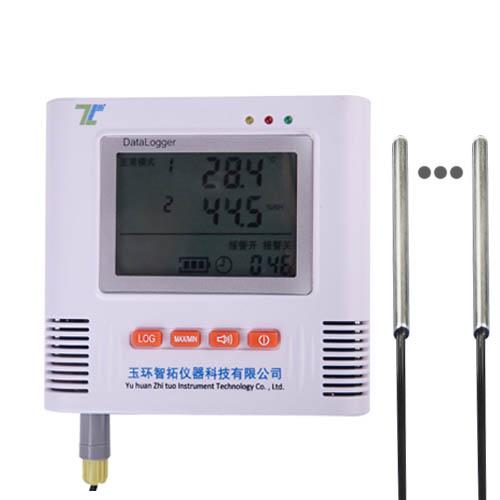 四路多探头温度记录仪